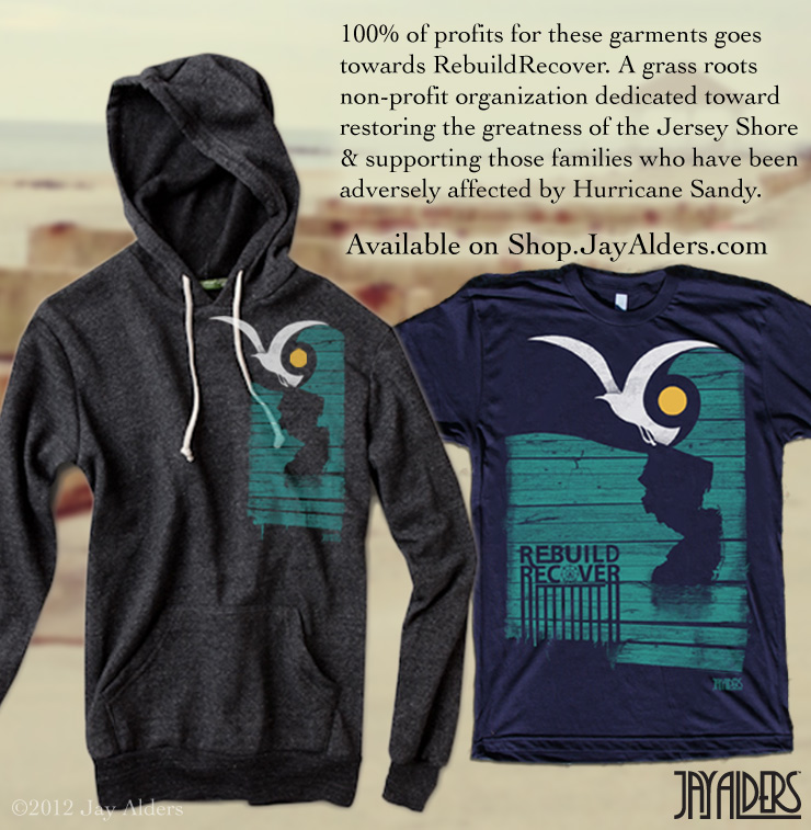 Hurricane Sandy Relief T-Shirts