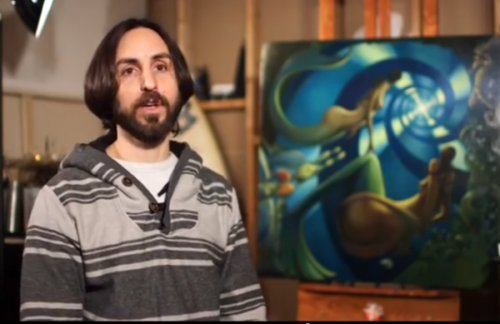 Jay Alders, Fine Artist talks about Fairy Tails Mermaid Painting