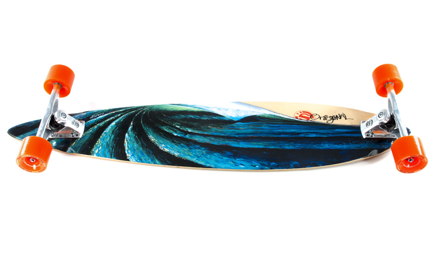 Out of the Blue Longboard Skateboard