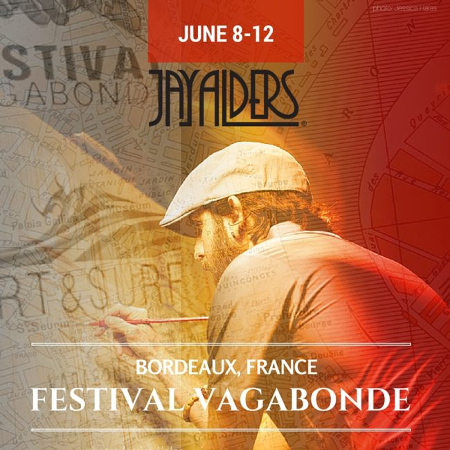 Bordeaux Surf Art Jay Alders
