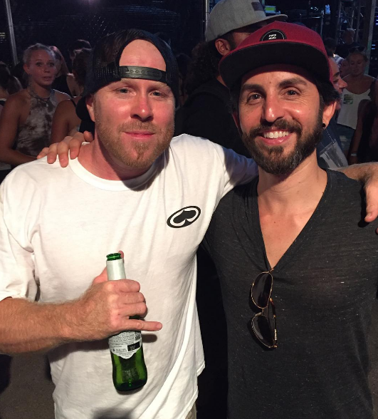 Kyle McDonald of Slightly Stoopid and Jay Alders