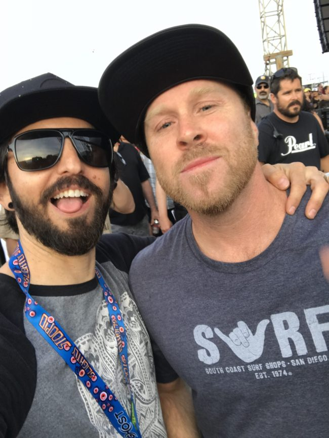 Kyle McDonald from Slightly Stoopid with Jay Alders