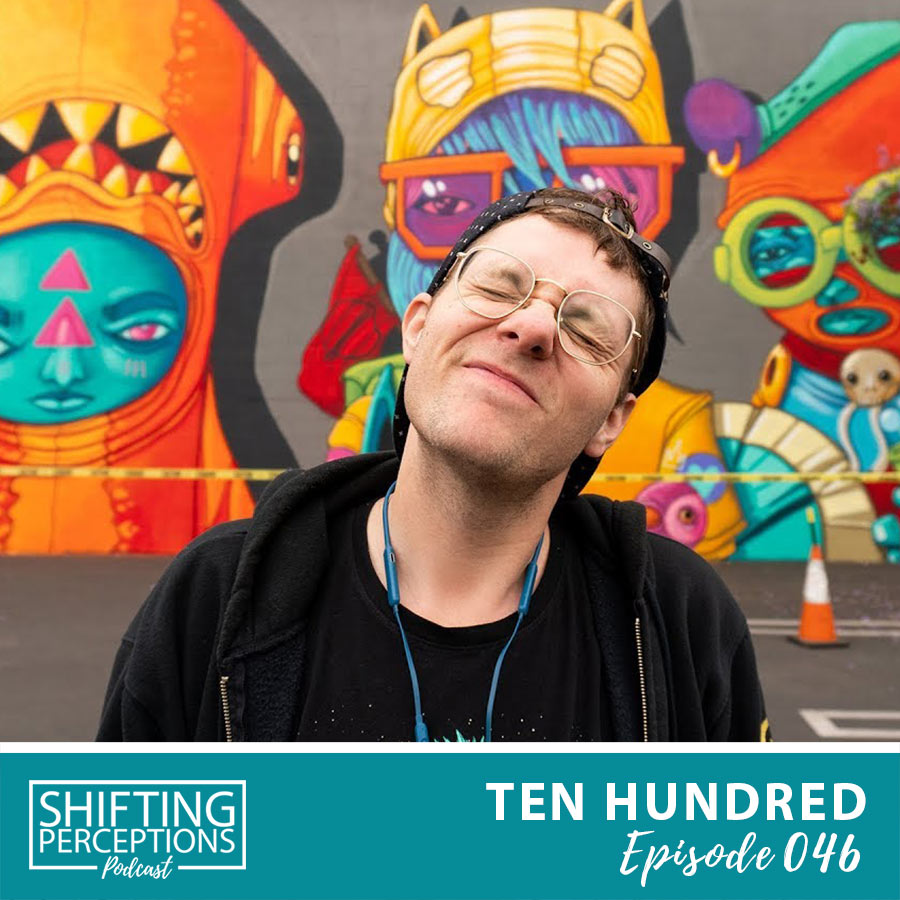 Street Artist & Mural Painter, Ten Hundred